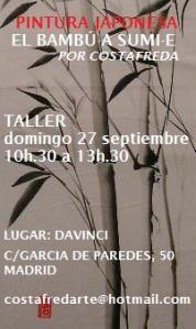 taller bambú